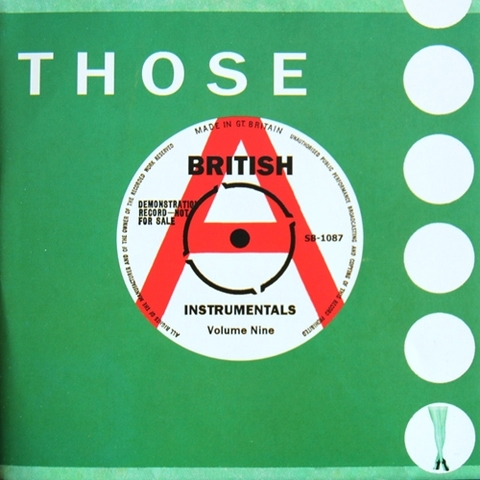 V.A / THOSE BRITISH INSTRUMENTALS VOL.9 (CD)