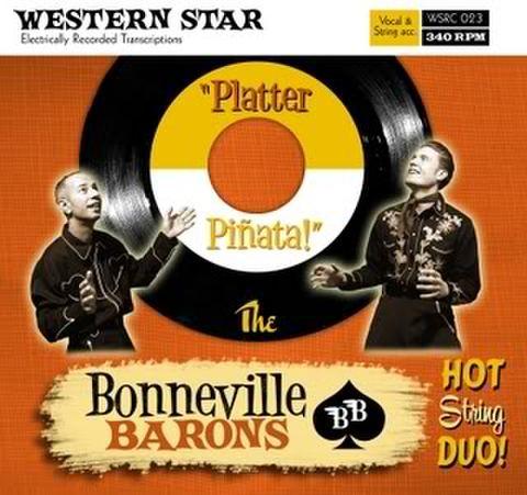 BONNEVILLE BARONS / PLATTER PINATA (CD)