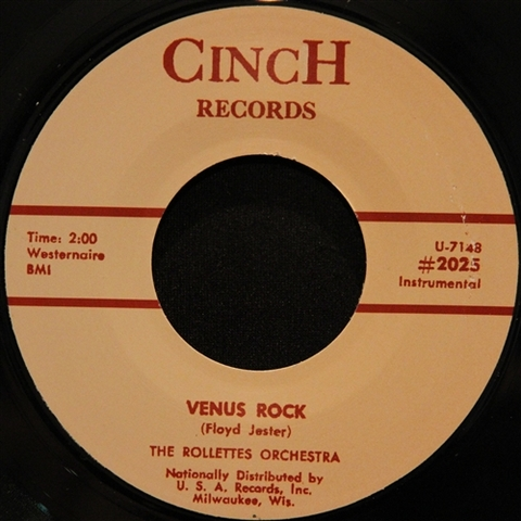 "ROLLETTES / VENUS ROCK (7"")"