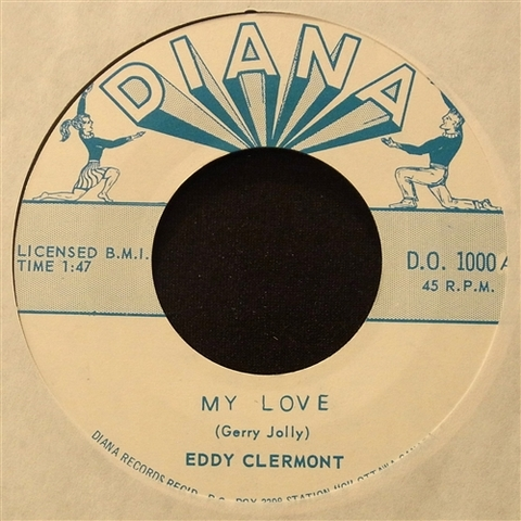 "EDDY CLERMONT / MY LOVE (7"")"