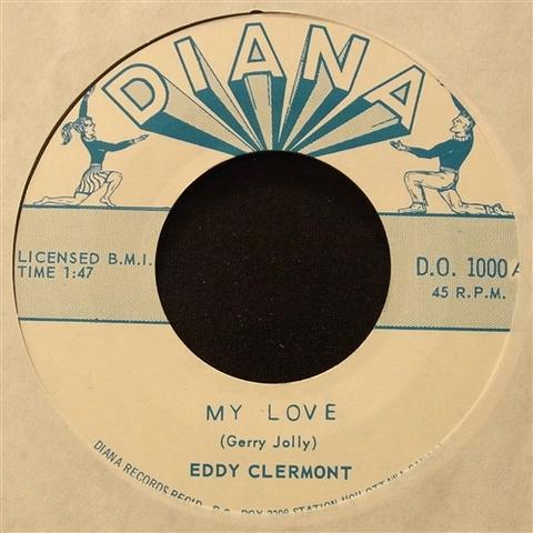 "EDDY CLERMONT / MY LOVE (7"")"