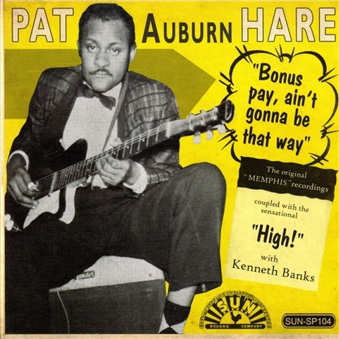 "PAT HARE / BONUS PAY (7"")"
