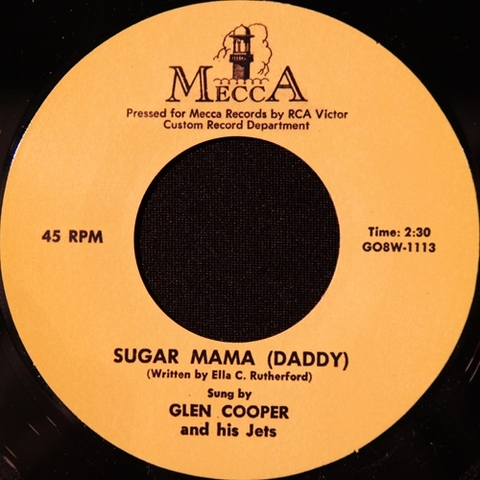 "GLEN COOPER / SUGAR MAMA (DADDY) (7"")"