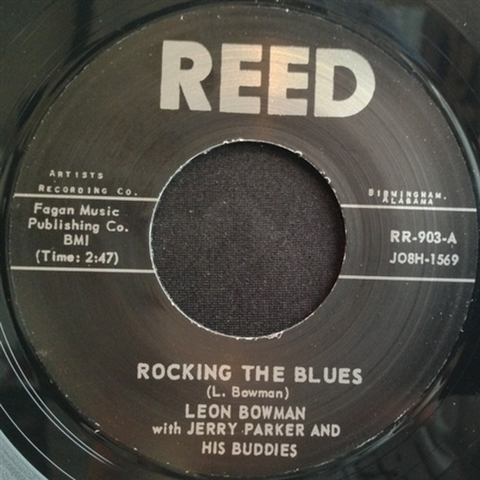 "LEON BOWMAN / ROCKING THE BLUES (7"")"