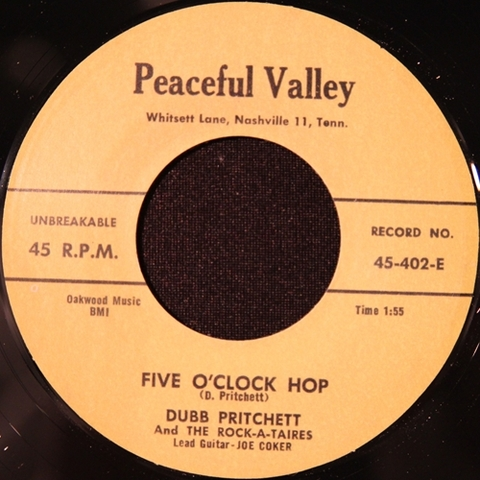 "DUBB PRICHETT / FIVE O' CLOCK HOP (7"")"
