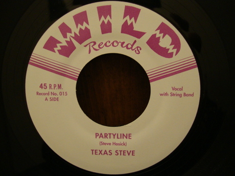 "TEXAS STEVE / PARTYLINE (7"")"