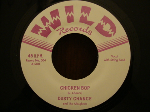 "DUSTY CHANCE & THE ALLNIGHTERS / HEX ON MY HEART (7"")"