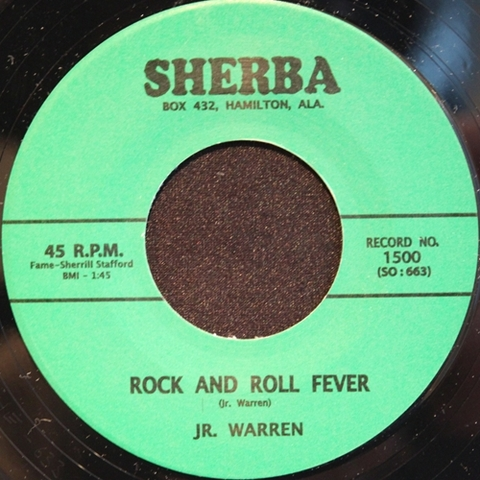 "JR. WARREN / ROCK AND ROLL FEVER (7"")"
