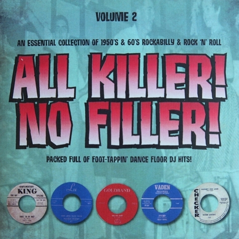 V.A / ALL KILLER! NO FILLER! VOL.2 (CD-R)