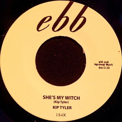 "KIP TYLER / SHE'S MY WITCH (7"")"