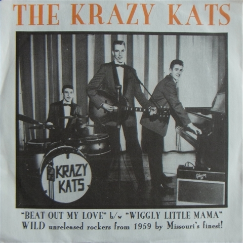 "KRAZY KATS / BEAT OUT MY LOVE (7"")"
