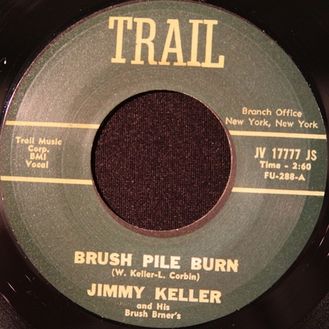 "JIMMY KELLER / BRUSH PILE BURN (7"")"