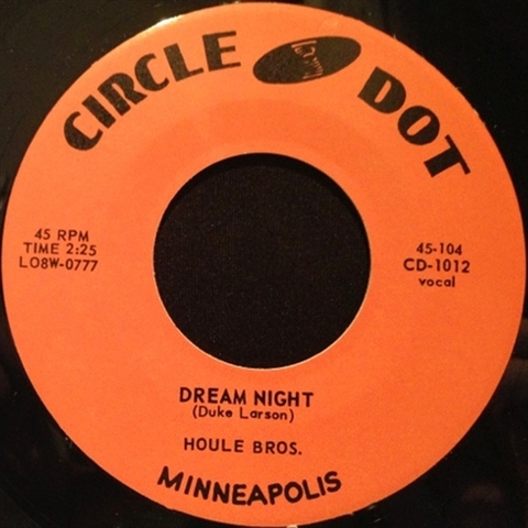 "HOULE BROTHERS / DREAM NIGHT (7"")"