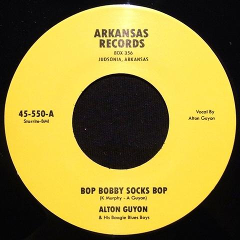 """ALTON GUYON / BOP BOBBY SOCKS BOP (7"""")"""