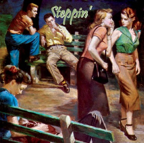 V.A / STEPPIN' (CD)