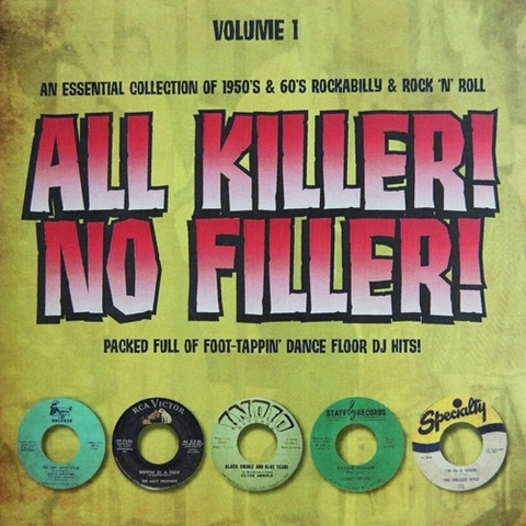 V.A / ALL KILLER! NO FILLER! VOL.1 (CD-R)