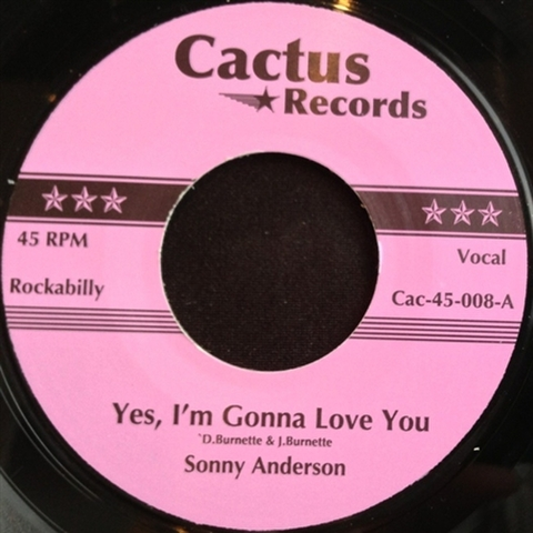 "SONNY ANDERSON / YES, I'M GONNA LOVE YOU (7"")"