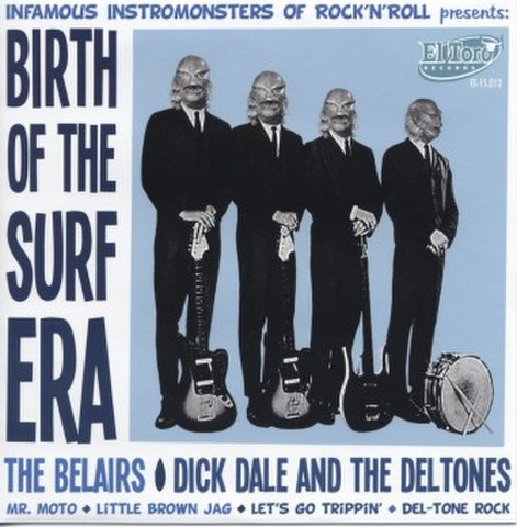 "V.A / BIRTH OF THE SURF ERA (7"")"