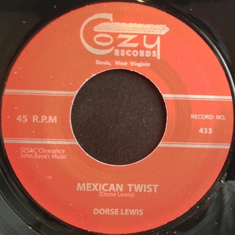 "DORSE LEWIS / MEXICAN TWIST (7"")"
