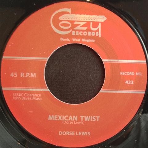 "DORSE LEWIS / MEXICAN TWIST (7"")"