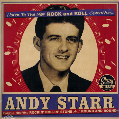 "ANDY STARR / ROCKIN' ROLLIN' STONE (7"")"