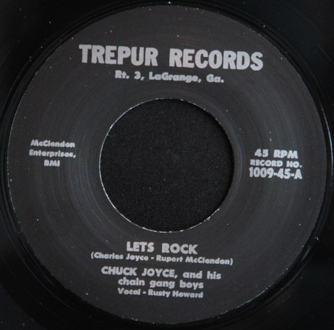 "CHUCK JOYCE / LET'S ROCK (7"")"