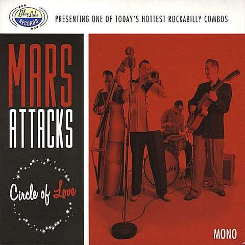 MARS ATTACKS / CIRCLE OF LOVE (CD)