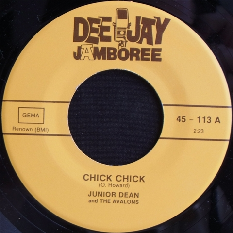 "JUNIOR DEAN / CHICK CHICK (7"")"