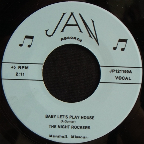 """NIGHT ROCKERS / BABY LET'S PLAY HOUSE (7"""")"""