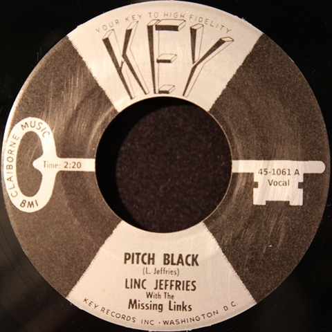 "LINC JEFFRIES / PITCH BLACK (7"")"