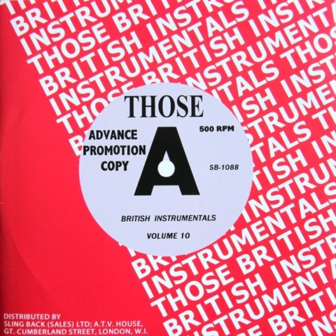 V.A / THOSE BRITISH INSTRUMENTALS VOL.10 (CD)