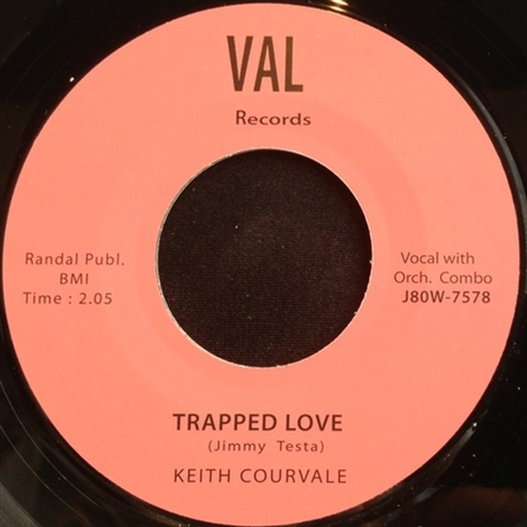 "KEITH COURVALE / TRAPPED LOVE (7"")"