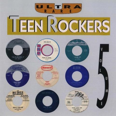 V.A / ULTRA RARE TEEN ROCKERS VOL.5 (CD)