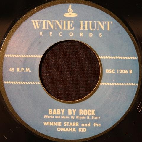 """WINNIE STARR / BABY BY ROCK (7"""")"""