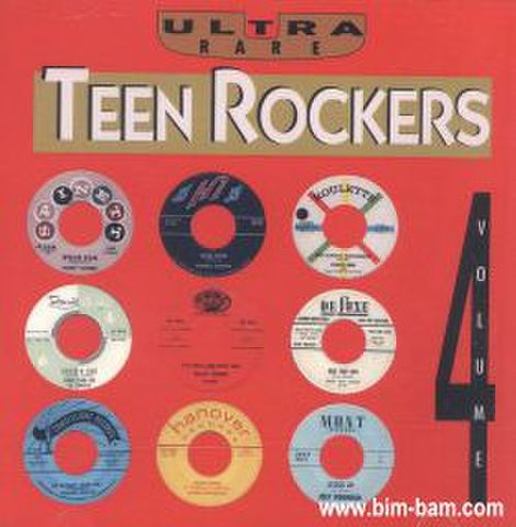 V.A / ULTRA RARE TEEN ROCKERS VOL.4 (CD-R)