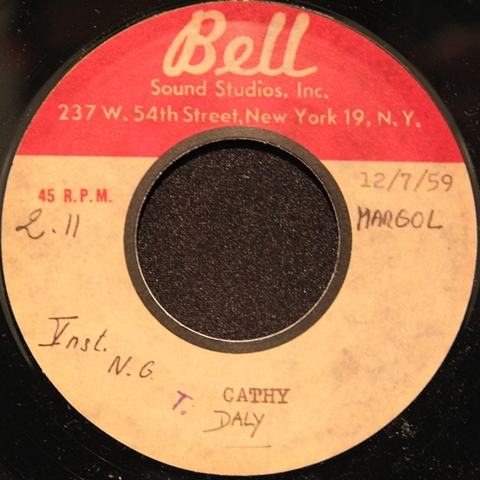 "TERRY DALY / CATHY (7"")"