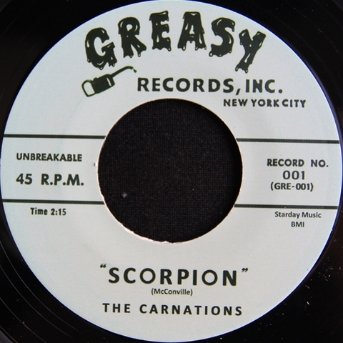 "CARNATIONS / SCORPION (7"")"