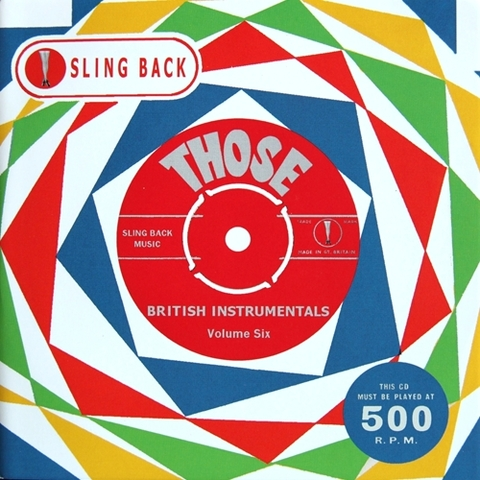 V.A / THOSE BRITISH INSTRUMENTALS VOL.6 (CD)