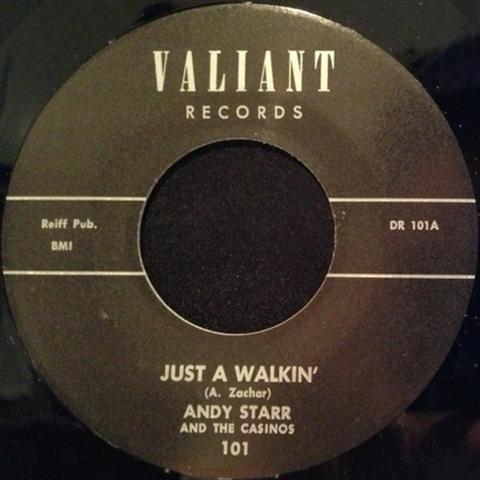 "ANDY STARR / JUST WALKIN' (7"")"