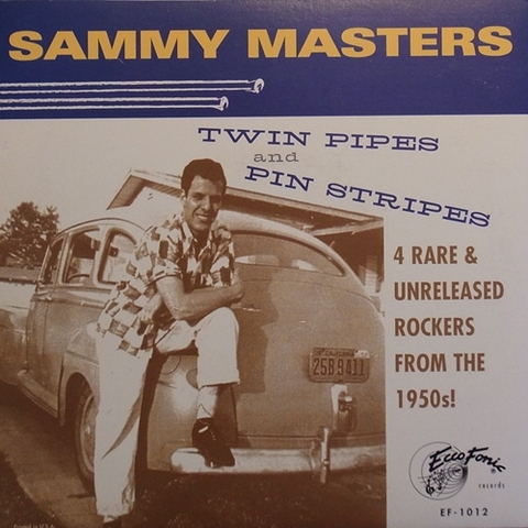 SAMMY MASTERS / TWIN PIPES & PIN STRIPES (EP)