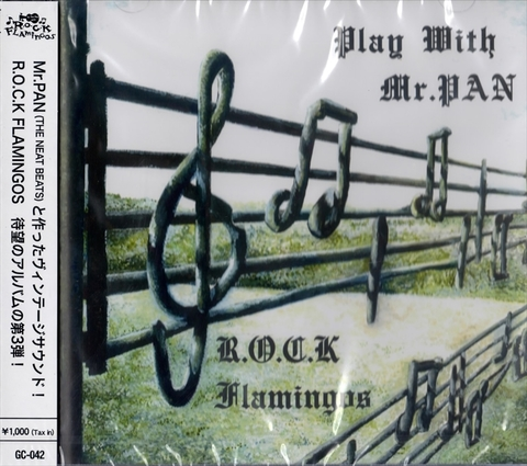 R.O.C.K FLAMINGOS / PLAY WITH MR.PAN (CD)