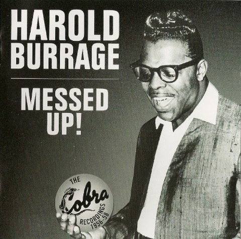 HAROLD BURRAGE / MASSED UP (CD)