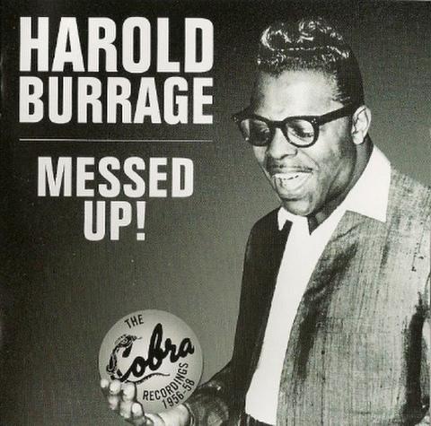 HAROLD BURRAGE / MASSED UP (CD)