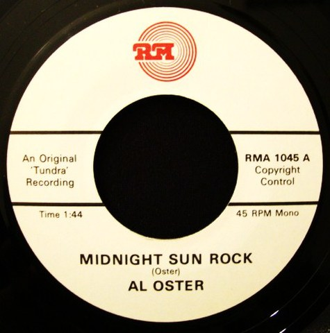 "AL OSTER/MIDNIGHT SUN ROCK(7"")"