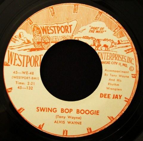 """ALVIS WAYNE / SWING BOP BOOGIE (7"""")"""