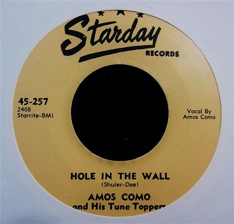 "AMOS COMO / HOLE IN THE WALL (7"")"