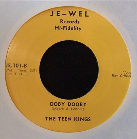 "TEEN KINGS / OOBY DOOBY (7"")"