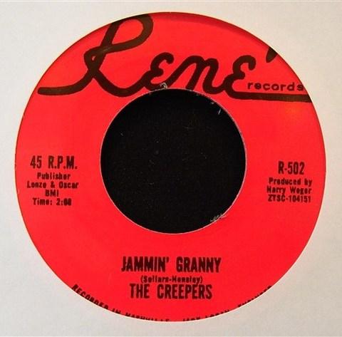 "CREEPERS / JAMMIN' GRANNY (7"")"