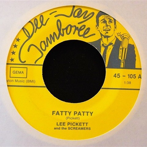"LEE PICKETT / FATTY PATTY (7"")"