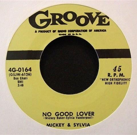 """MICKEY & SILVIA / NO GOOD LOVER (7"""")"""